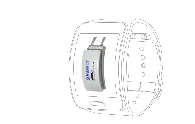 Samsung SDI Li-ion Battery - Wearable Device
