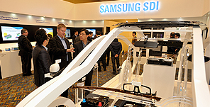 Samsung SDI, targeting the North American market with automotive batteries and high-tech materials